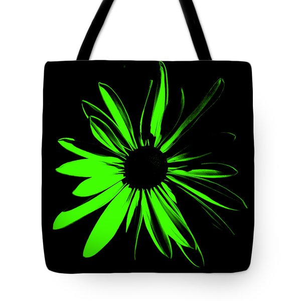 Tote Bag featuring the digital art Flower 12 by Maggy Marsh