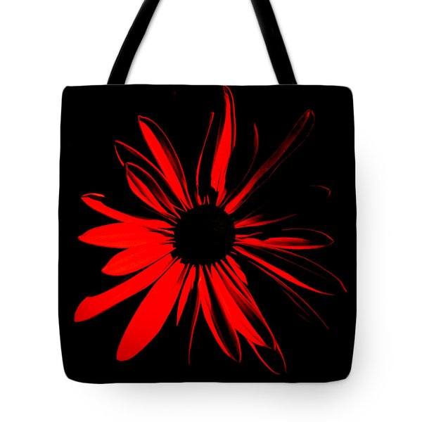 Tote Bag featuring the digital art Flower 2 by Maggy Marsh