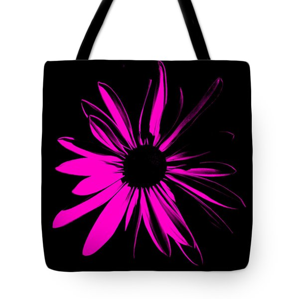 Tote Bag featuring the digital art Flower 6 by Maggy Marsh