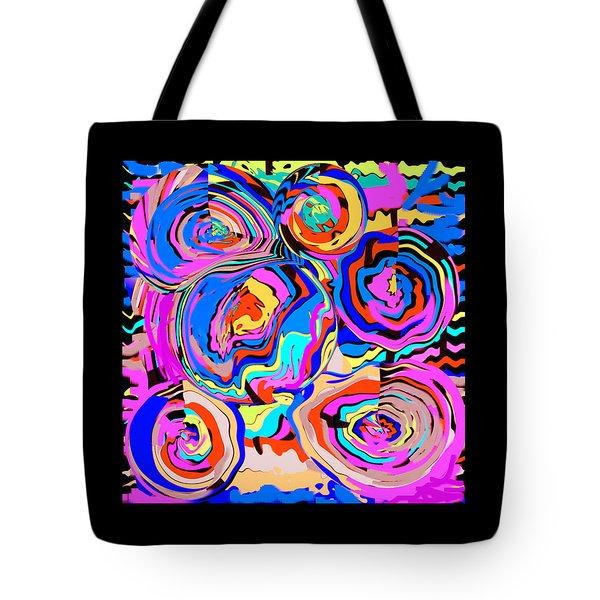 Abstract Art Painting #2 Tote Bag by RjFxx at beautifullart com