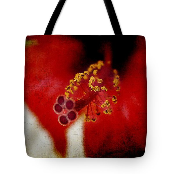 Flower Abstract Tote Bag