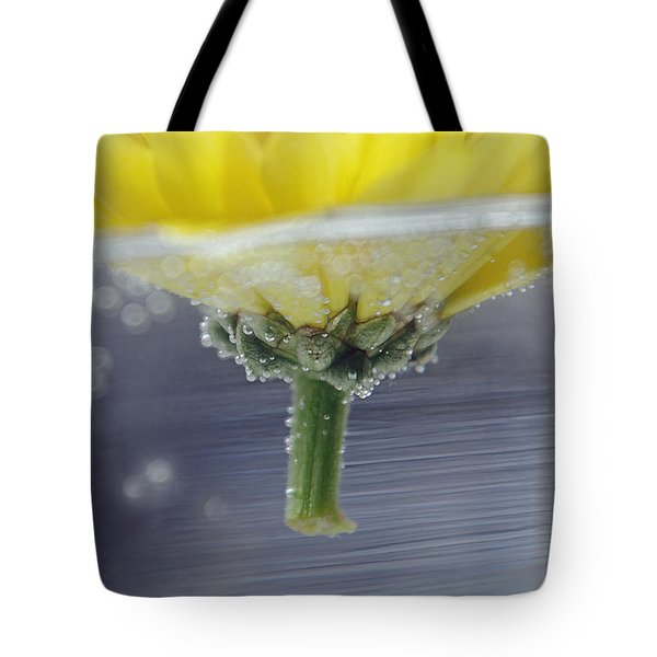 Flower Afloat Tote Bag by Adria Trail