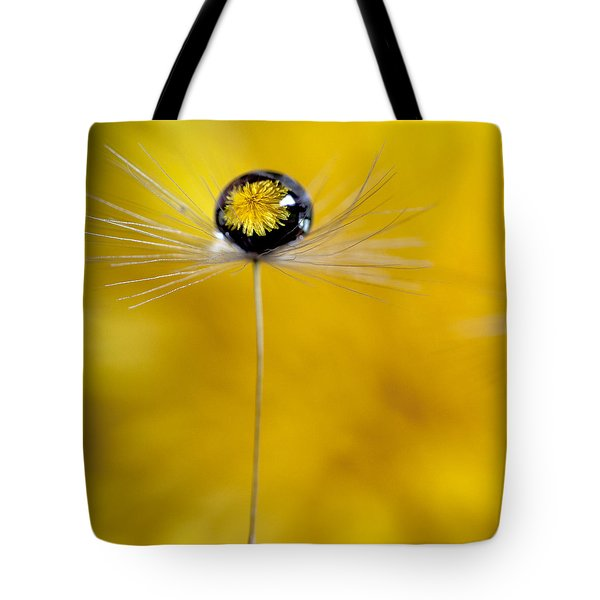 Flower And Seed Tote Bag
