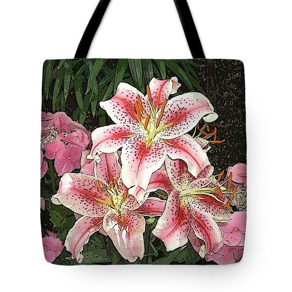 Flower Art01 Tote Bag