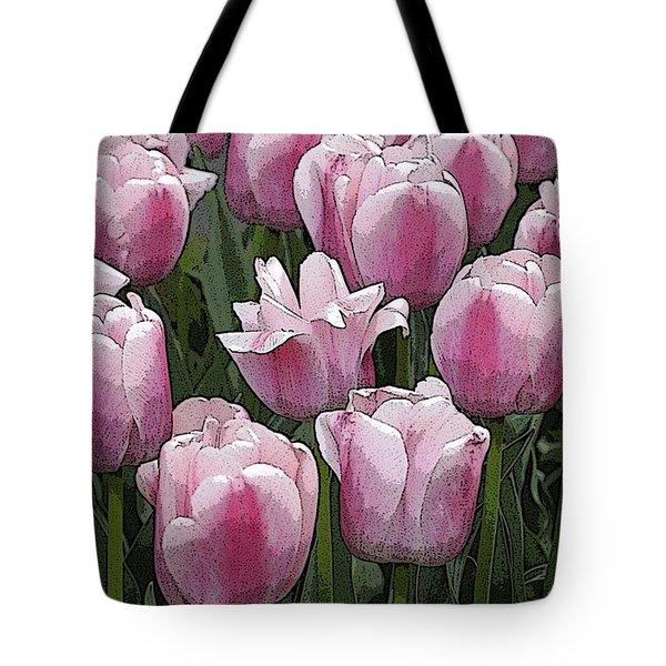 Flower Art06 Tote Bag