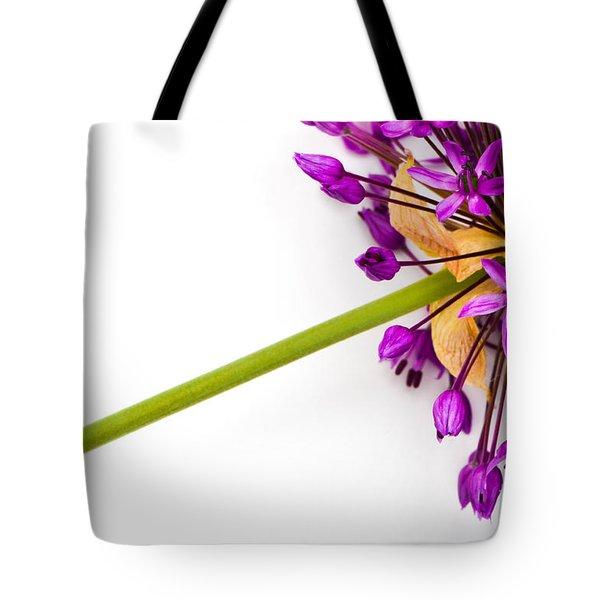 Flower At Rest Tote Bag