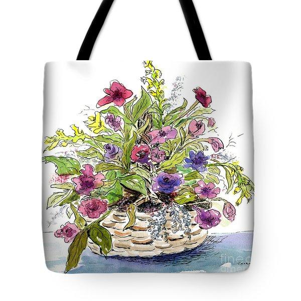 Flower Basket I Tote Bag