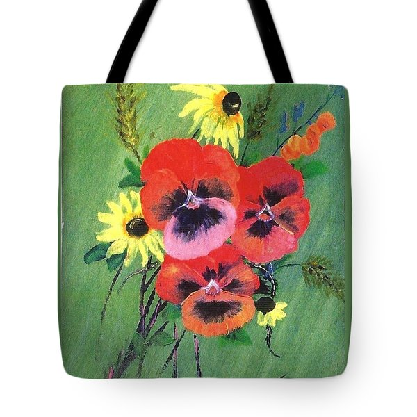 Flower Bunch Tote Bag