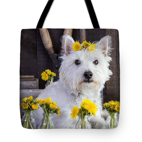 Flower Child Tote Bag by Edward Fielding