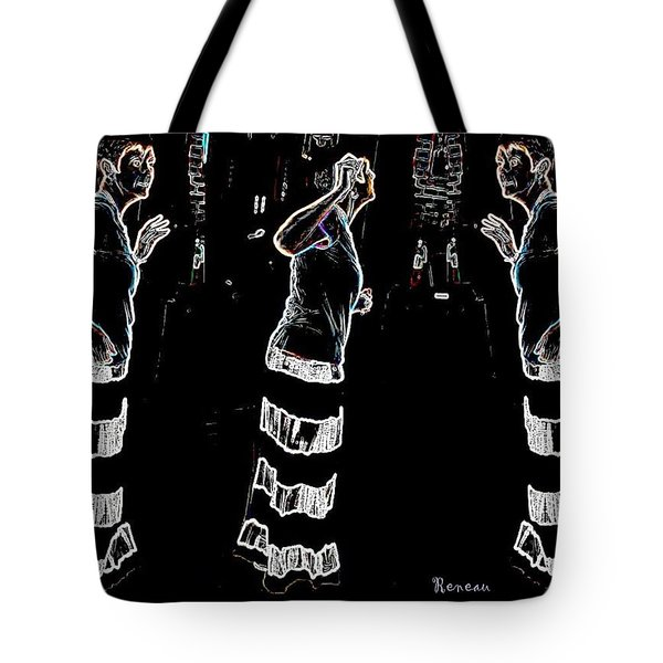 Flower Child Tote Bag by Sadie Reneau