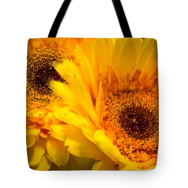 Flower Eyes Tote Bag