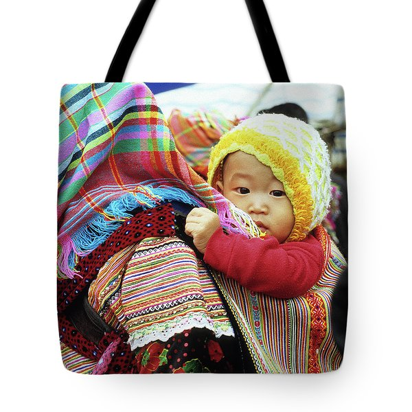 Flower Hmong Baby 04 Tote Bag
