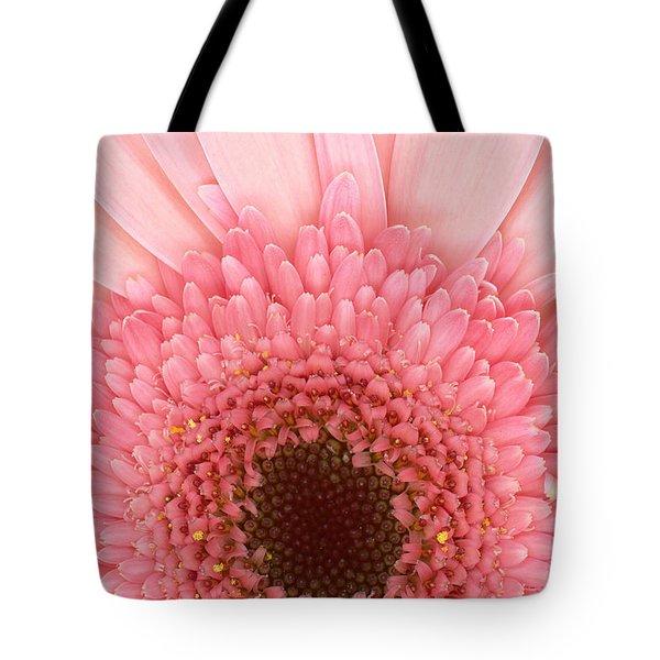Flower - I Love Pink Tote Bag by Mike Savad