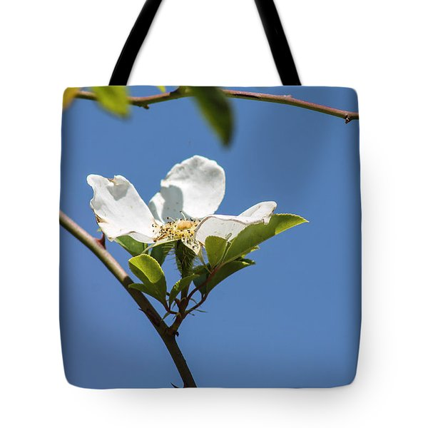 Flower In The Sun Tote Bag
