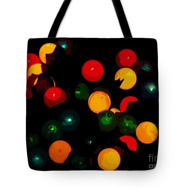 Flower Light Bunch Tote Bag