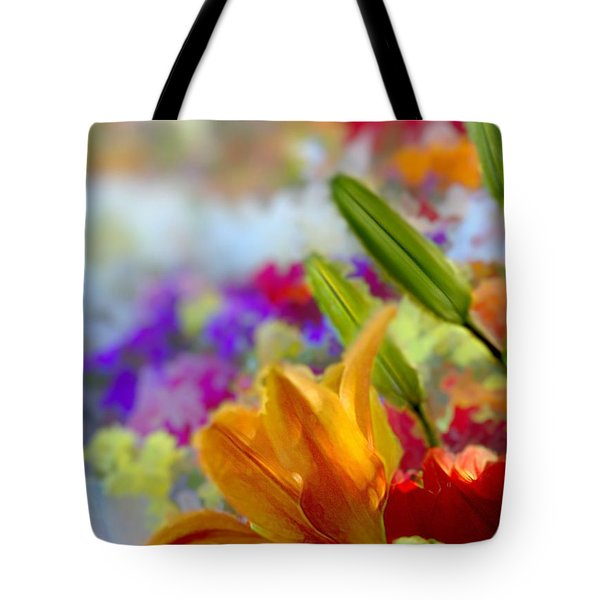 Flower Market 1 Tote Bag
