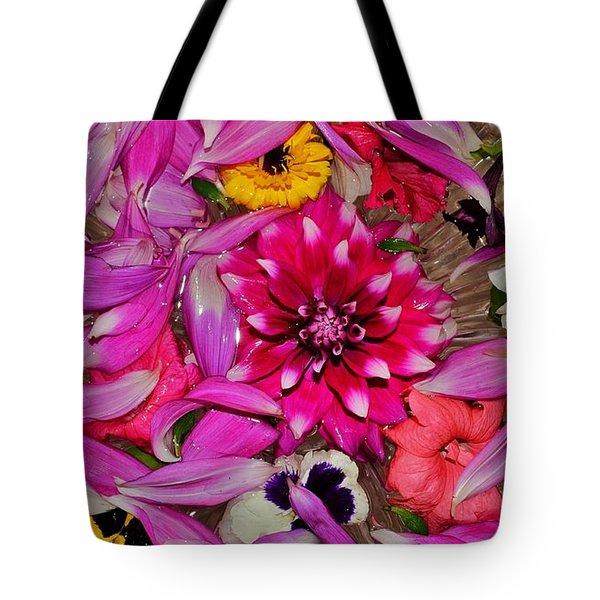 Flower Offerings - Jabalpur India Tote Bag