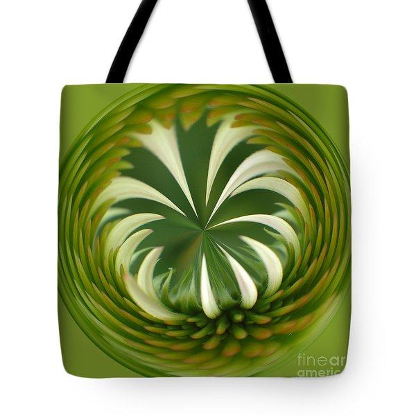 Flower Orbital II Tote Bag by Sharon Seaward
