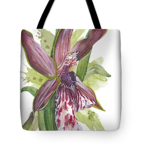Flower Orchid 10 Elena Yakubovich Tote Bag by Elena Yakubovich