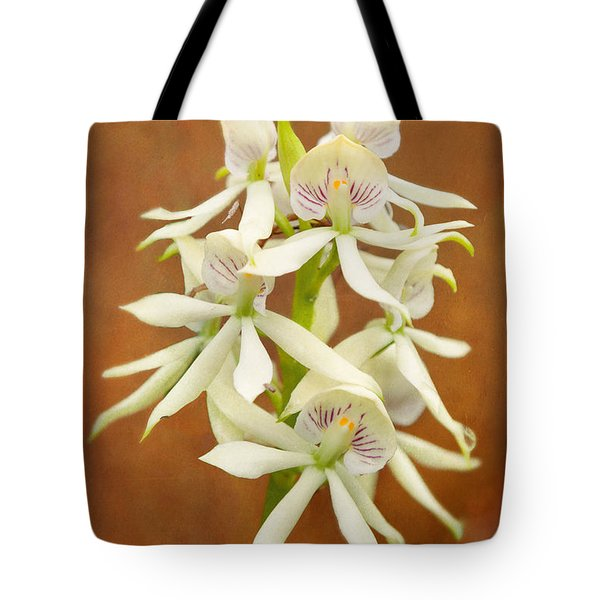 Flower - Orchid - A Gift For You  Tote Bag by Mike Savad
