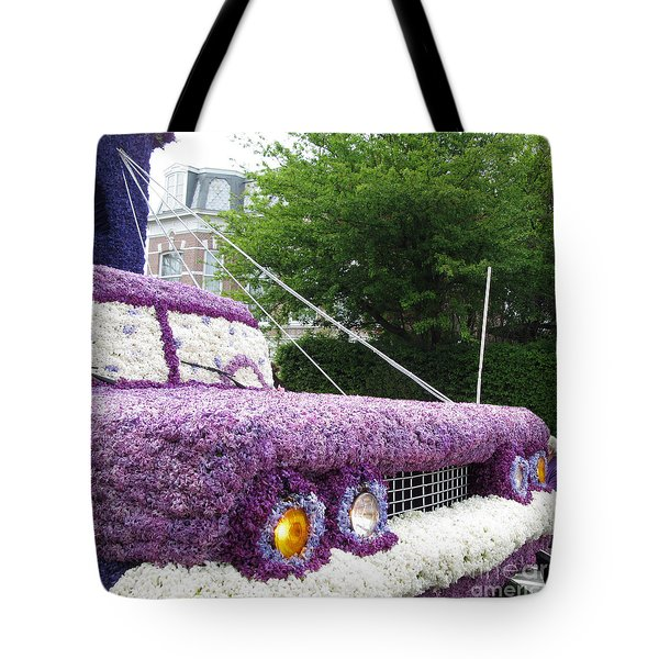 Flower Parade. 03 Blumencorso Holland 2011 Tote Bag by Ausra Huntington nee Paulauskaite