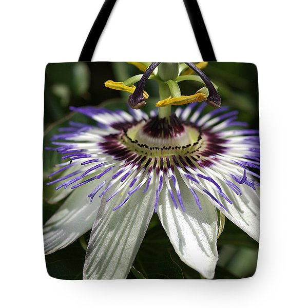 flower-Passionfruit Tote Bag