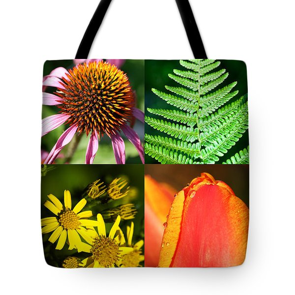 Flower Photo 4 Way Tote Bag