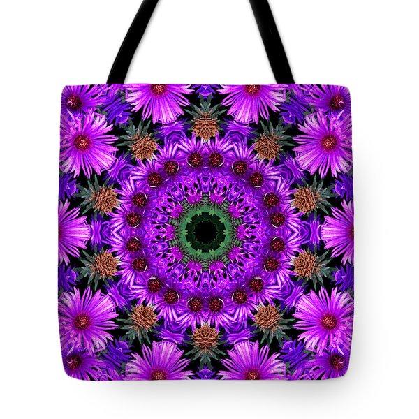Flower Power Tote Bag by Kristie  Bonnewell