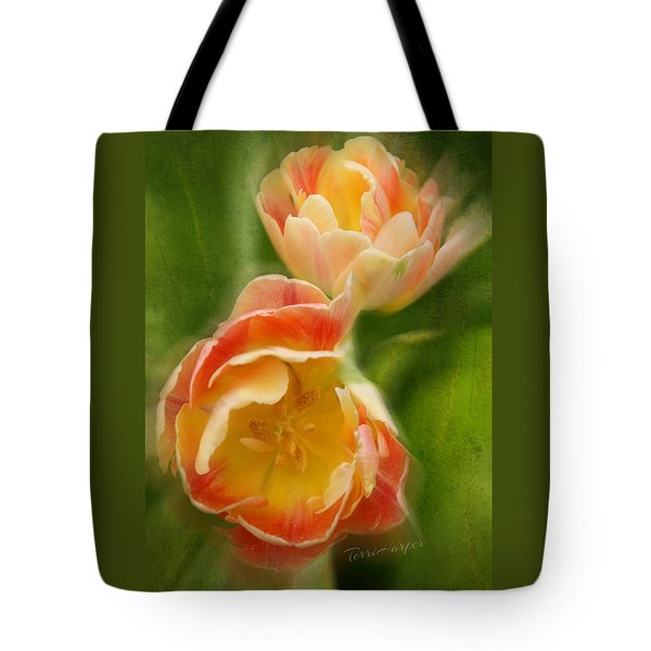 Tote Bag featuring the photograph Flower Power Revisited by Terri Harper