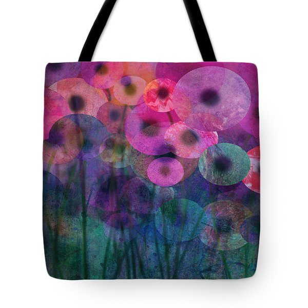Flower Power Six Tote Bag by Ann Powell