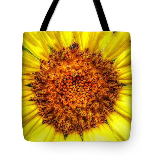 Flower Power Tote Bag by Tina  LeCour