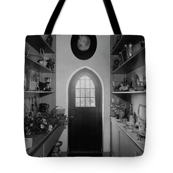Flower Room In The Home Of Mrs. Charles Wheeler Tote Bag