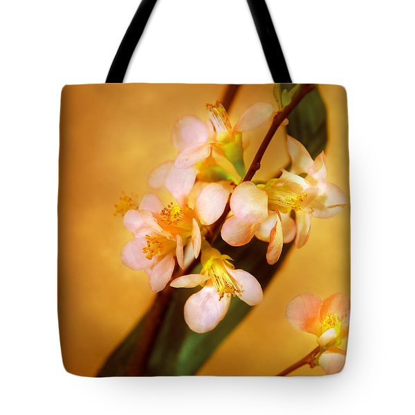 Flower - Sakura - A Touch Of Spring Tote Bag by Mike Savad
