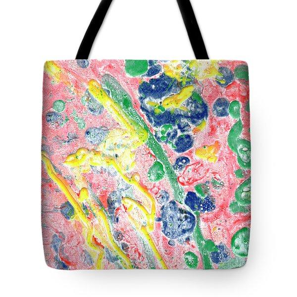 Flower Shower Tote Bag