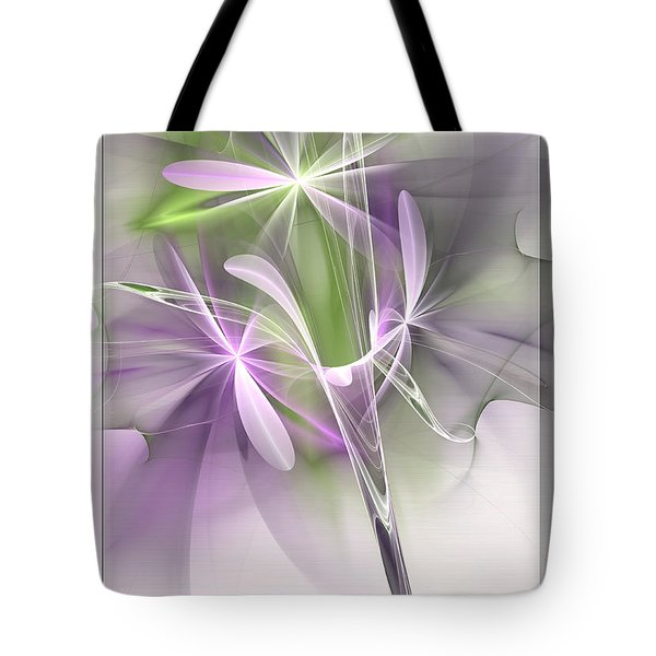 Flower Spirit Tote Bag by Svetlana Nikolova