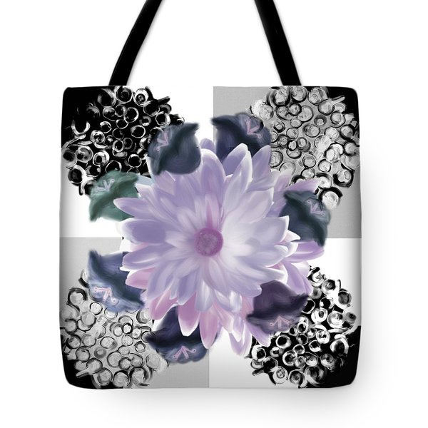 Flower Spreeze Tote Bag