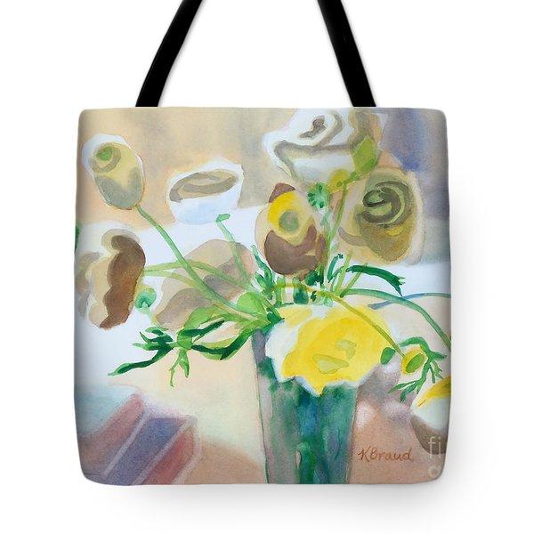 Flower Still Life          Tote Bag by Kathy Braud