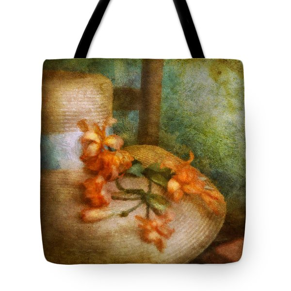 Flower - Still - Spring Fashion Tote Bag by Mike Savad