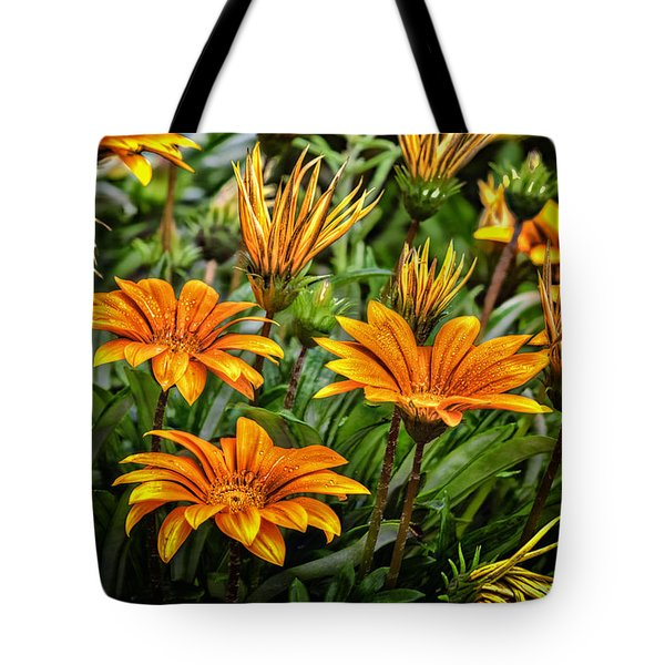 Flower Town Tote Bag