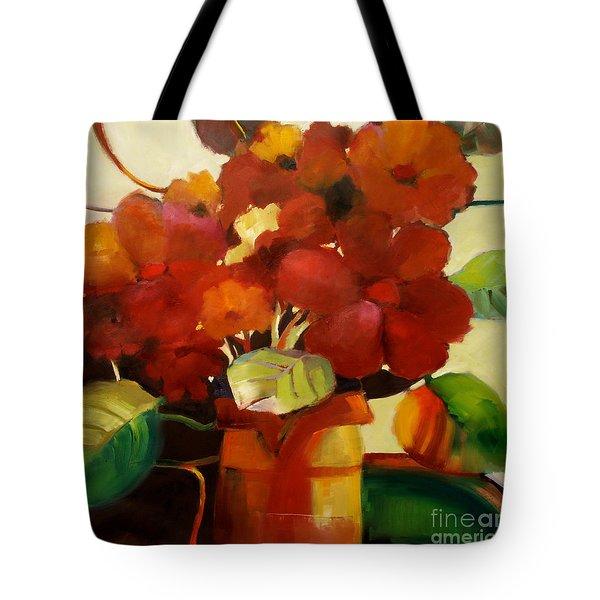 Flower Vase No. 3 Tote Bag