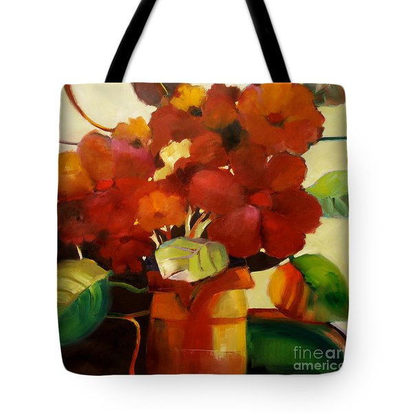 Flower Vase No. 3 Tote Bag