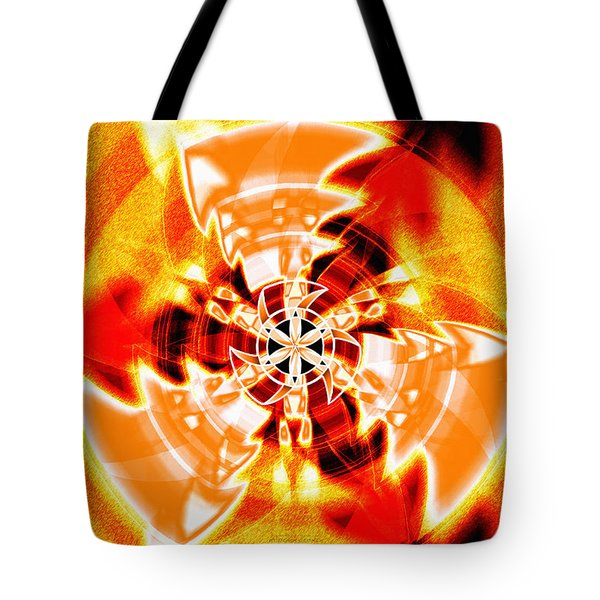Tote Bag featuring the drawing Flower Vectors Of Life by Derek Gedney