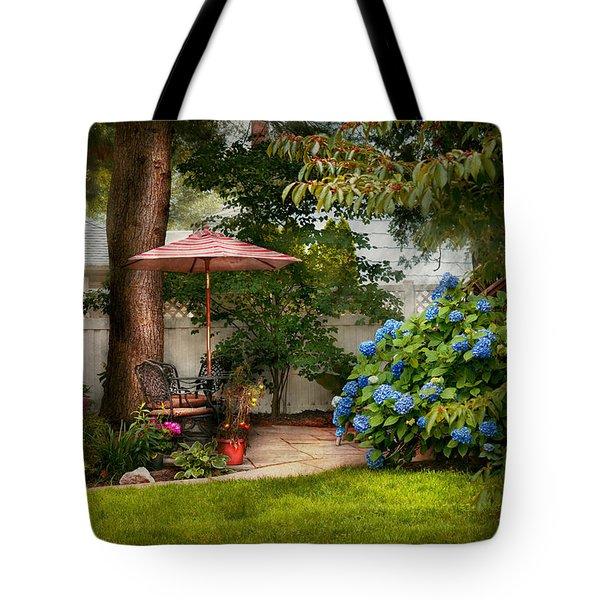Flower - Westfield Nj - Private Paradise Tote Bag by Mike Savad