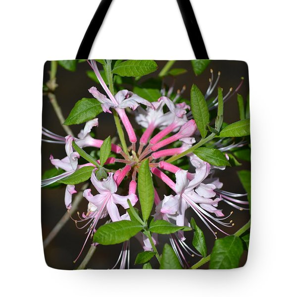Tote Bag featuring the photograph Flower Wheel by Tara Potts