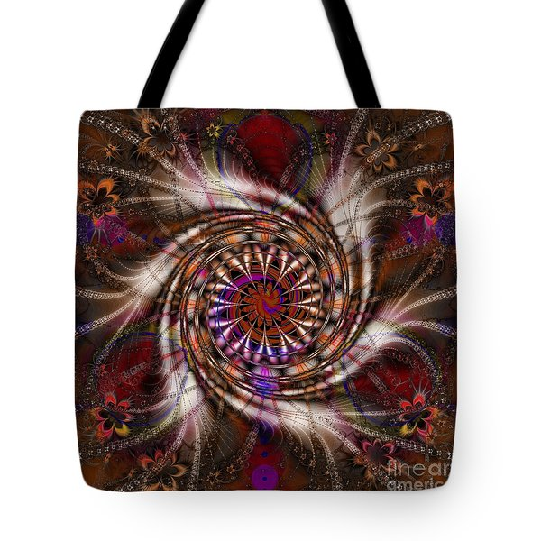 Flowercracker   Tote Bag by Elizabeth McTaggart