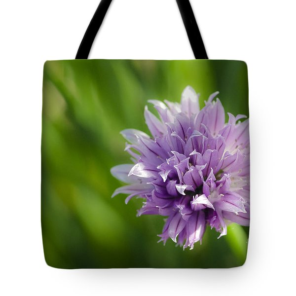 Flowering Chive Tote Bag