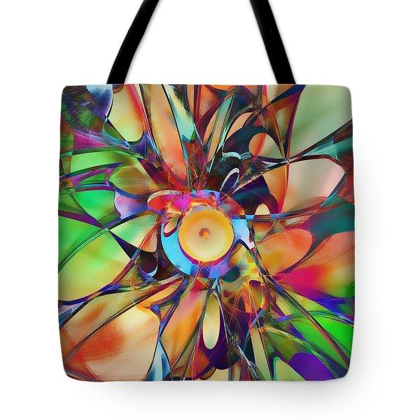 Flowering Tote Bag by Klara Acel