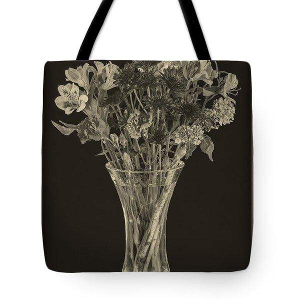 Flowers 1860s Tote Bag by Edward Fielding