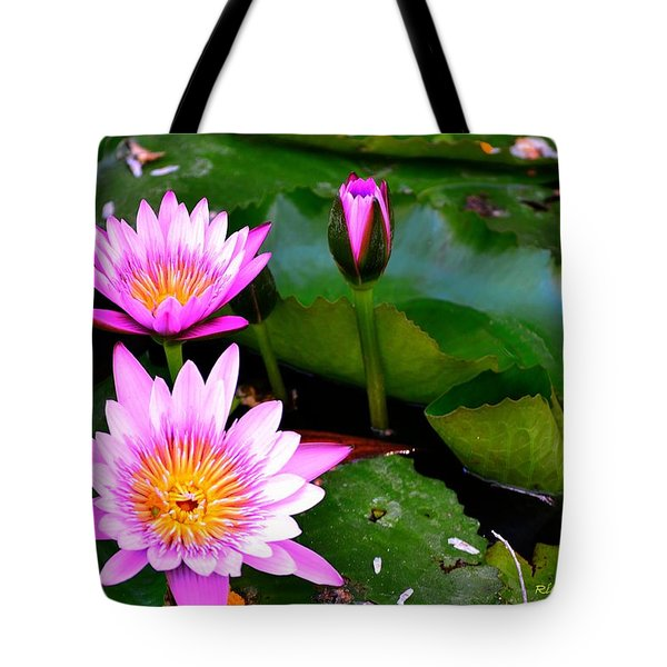 Flowers 2 Tote Bag by Richard Zentner