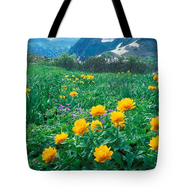 Flowers Tote Bag by Anonymous